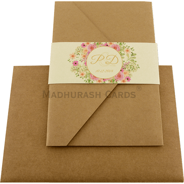 Kraft Wedding Invitations - KWC-9470 - 3