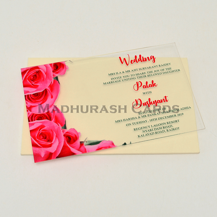 Custom Wedding Cards - CZC-8861 - 4