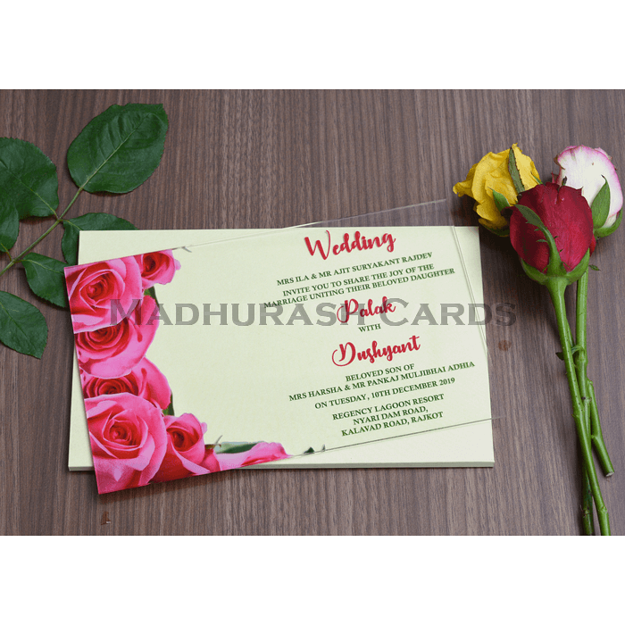 Acrylic Wedding Invites AWI-8861