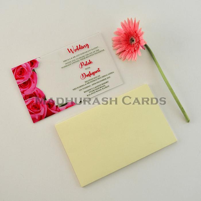 Acrylic Wedding Invites - AWI-8861 - 5