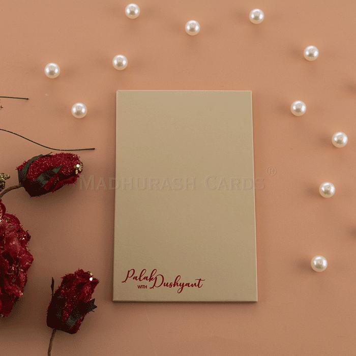 Custom Wedding Cards - CZC-8862 - 3