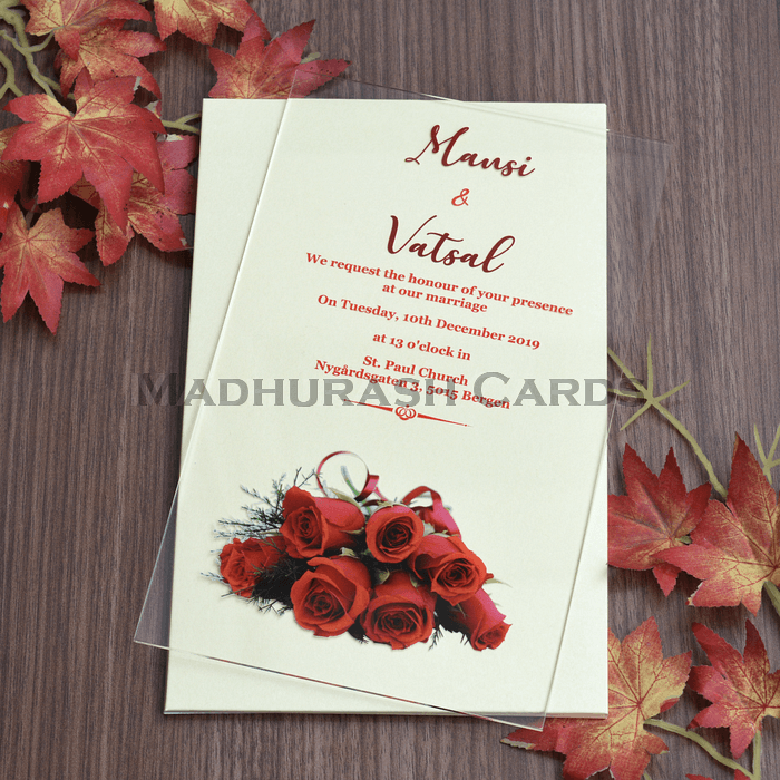 Acrylic Wedding Invites AWI-8862