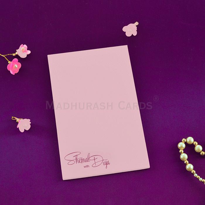 Custom Wedding Cards - CZC-8863 - 3