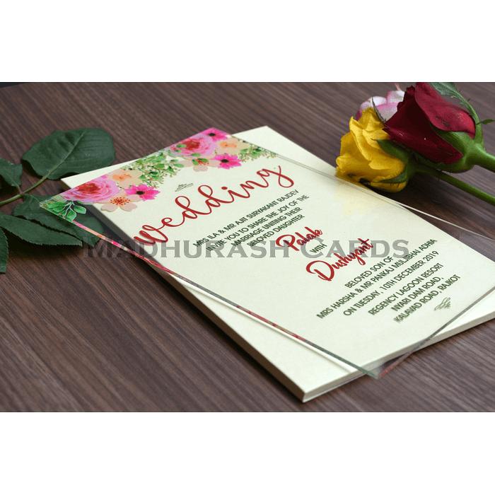 Custom Wedding Cards - CZC-8864 - 4