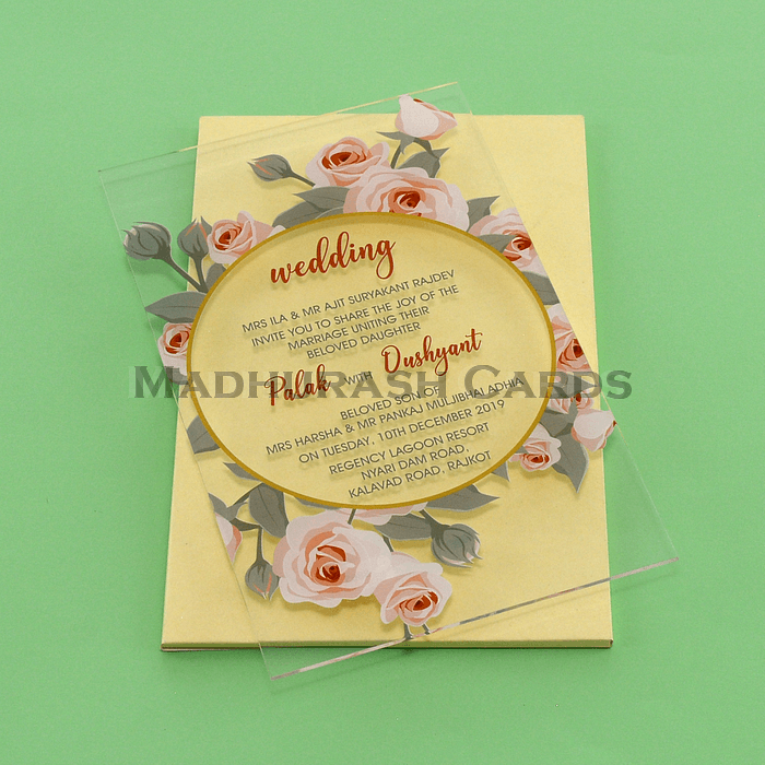 test Custom Wedding Cards - CZC-8865