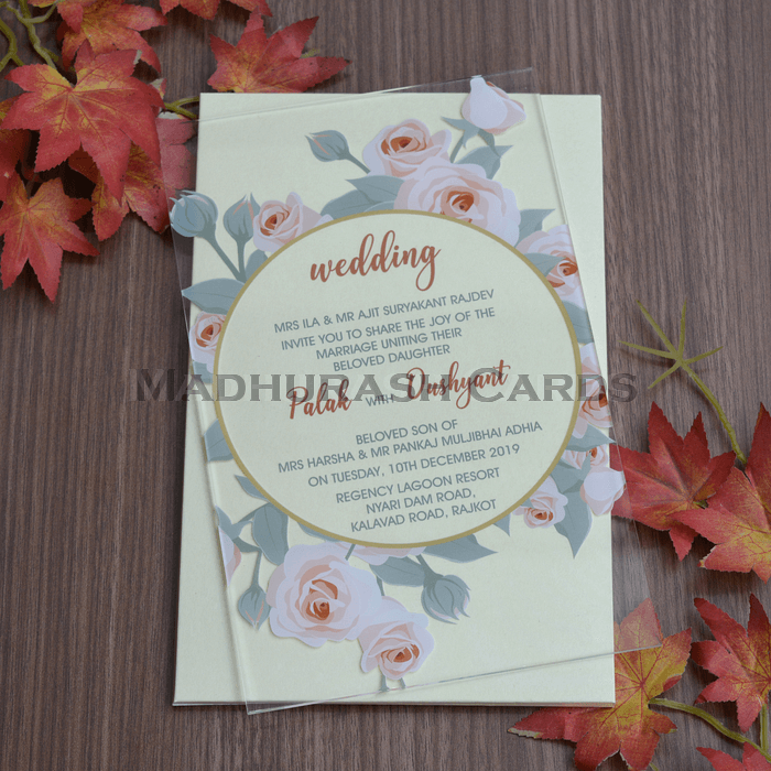 Custom Wedding Cards - CZC-8865 - 4