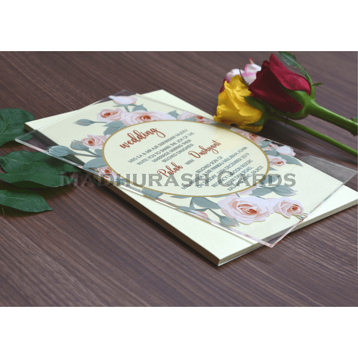 Custom Wedding Cards - CZC-8865 - 5