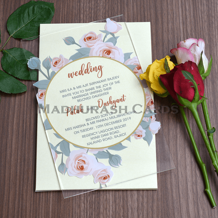Acrylic Wedding Invites AWI-8865