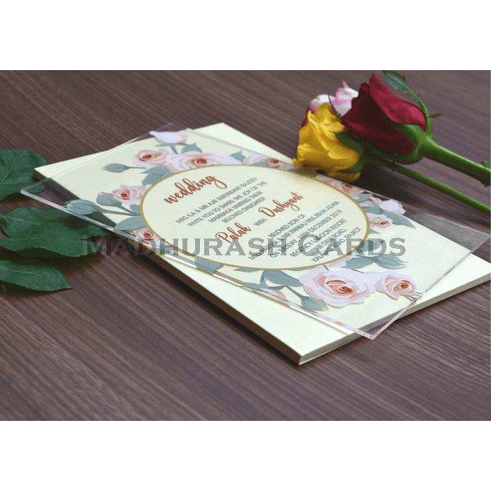 Acrylic Wedding Invites - AWI-8865 - 5