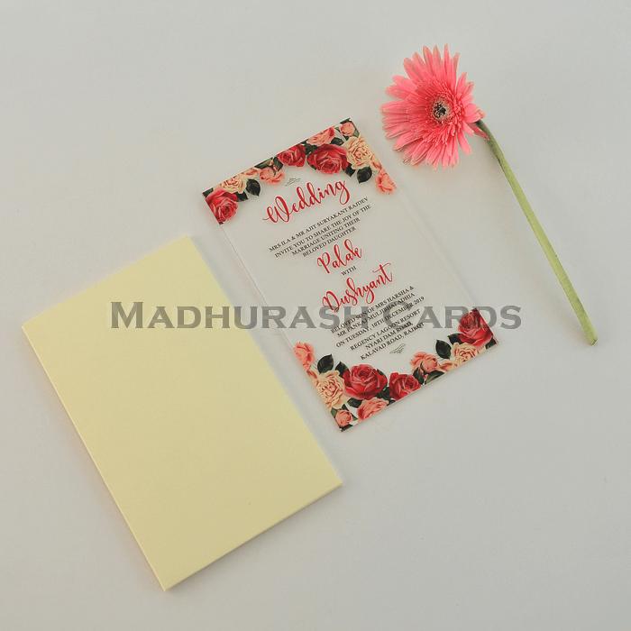 Custom Wedding Cards - CZC-8866 - 5
