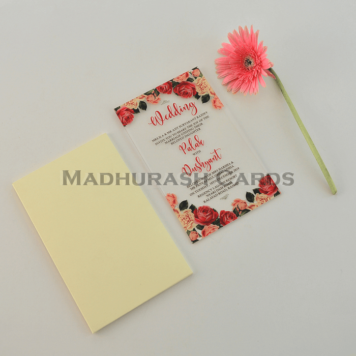 Personalized Single Invites - PSI-8866 - 5