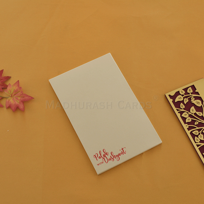 Acrylic Wedding Invites AWI-8866