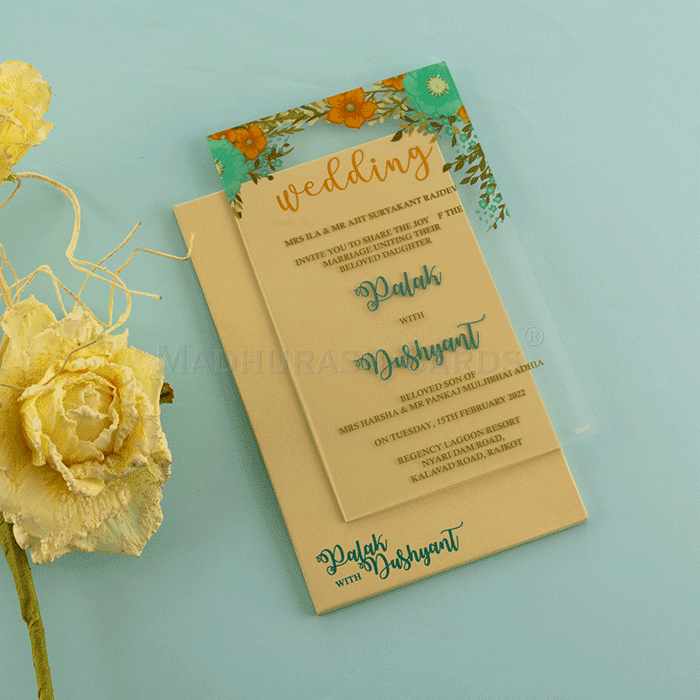 test Custom Wedding Cards - CZC-8867