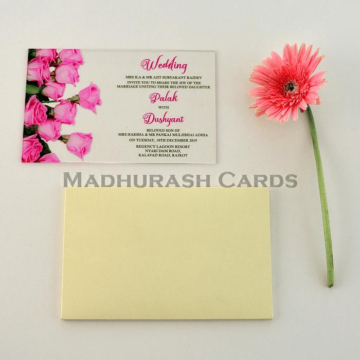 Custom Wedding Cards - CZC-8868 - 4