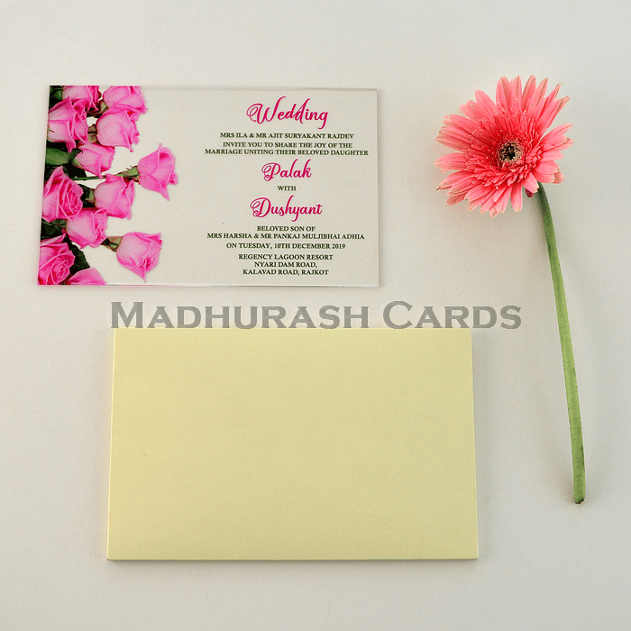 Acrylic Wedding Invites AWI-8868