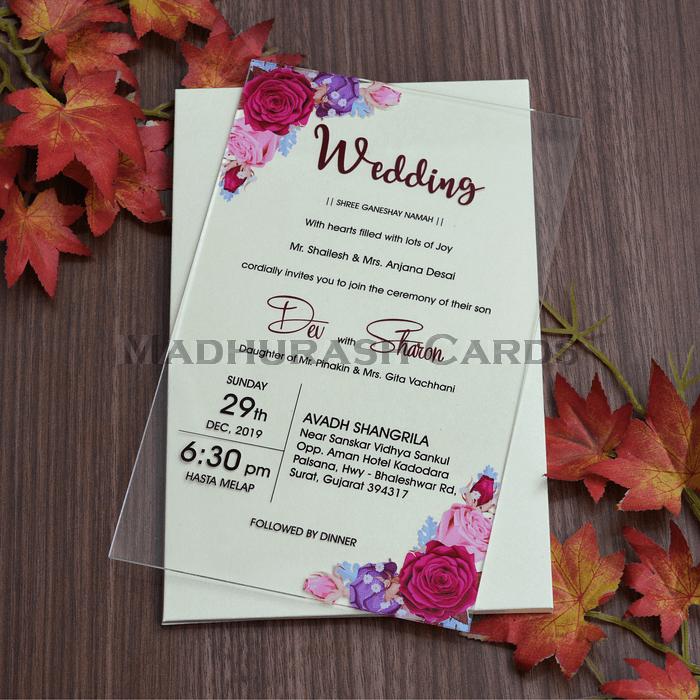 Personalized Single Invites - PSI-8863 - 4
