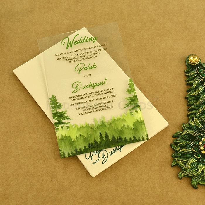 test Custom Wedding Cards - CZC-8870