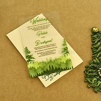 Acrylic Wedding Invites AWI-8870