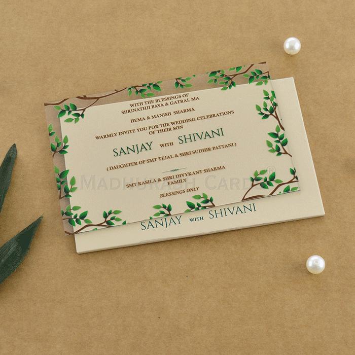 test Custom Wedding Cards - CZC-9010A