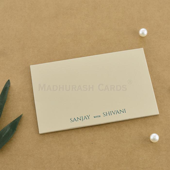 Custom Wedding Cards - CZC-9010A - 3