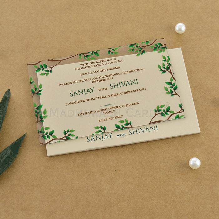 Personalized Single Invites - PSI-9010A - 2