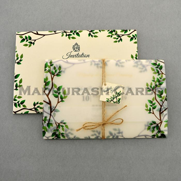 test Custom Wedding Cards - CZC-9460A