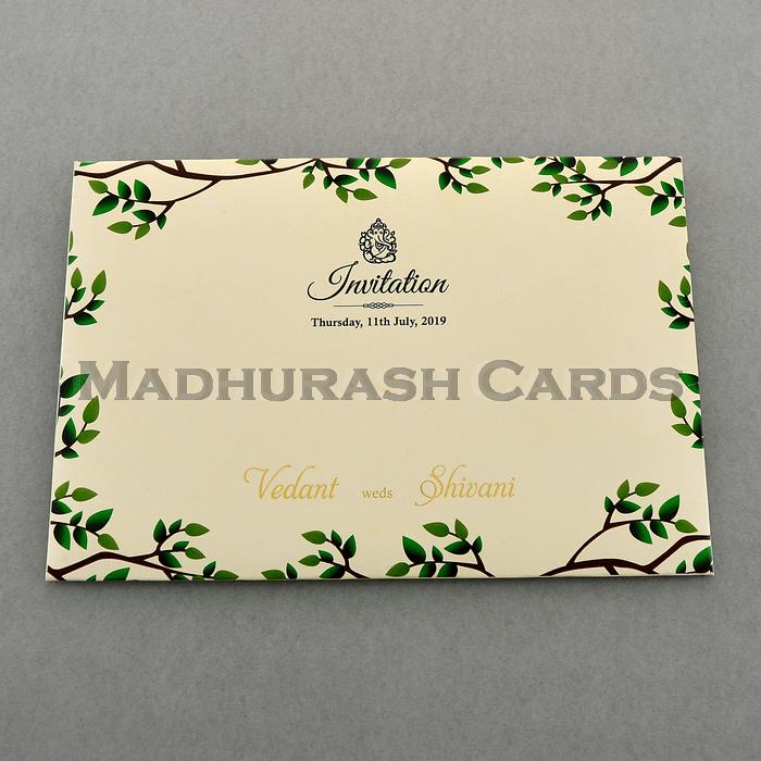 Custom Wedding Cards - CZC-9460A - 3