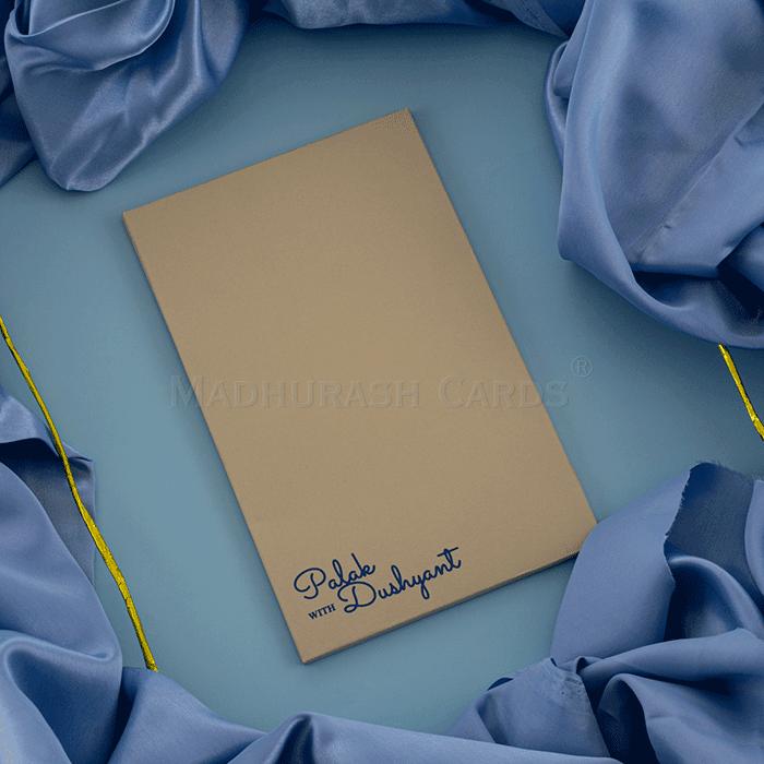 Personalized Single Invites - PSI-8912BL - 3