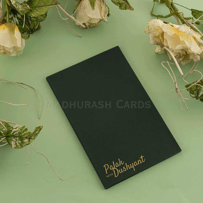 Custom Wedding Cards - CZC-8913G - 4