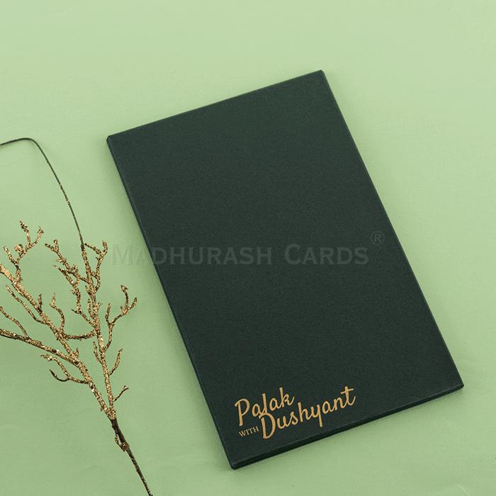 Custom Wedding Cards - CZC-8913G - 5