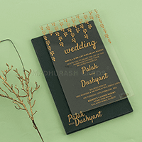 Acrylic Wedding Invites - AWI-8913G