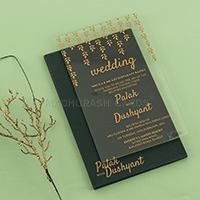 Acrylic Wedding Invites AWI-8913G