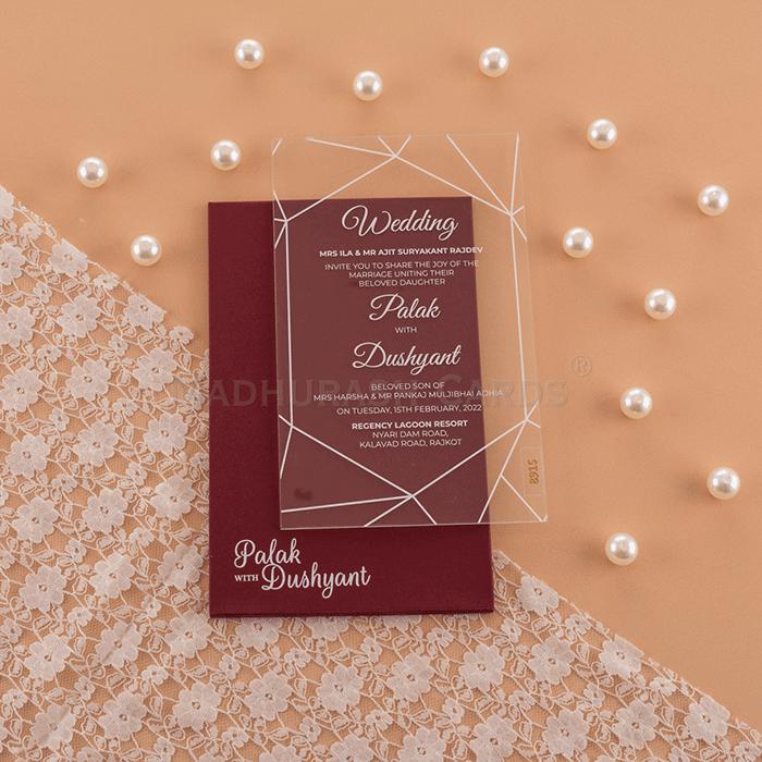 test Custom Wedding Cards - CZC-8915G