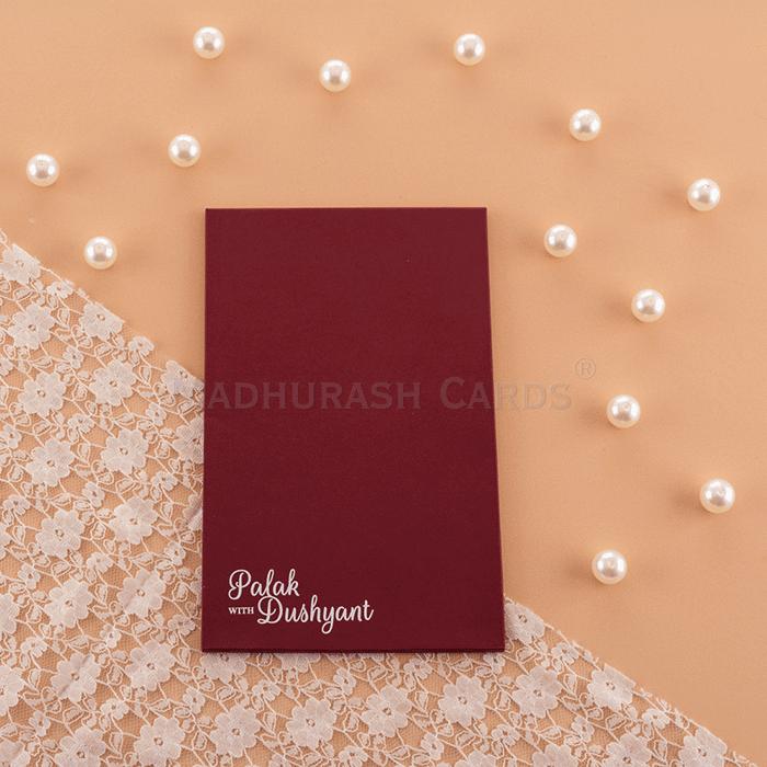 Custom Wedding Cards - CZC-8915W - 3