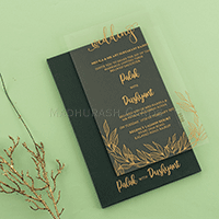 Acrylic Wedding Invites - AWI-8916G
