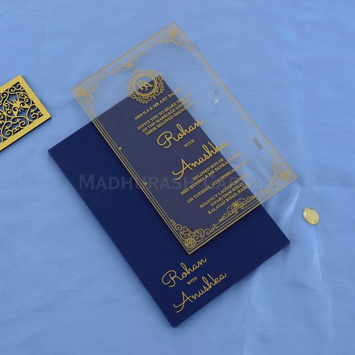 test Custom Wedding Cards - CZC-8918G