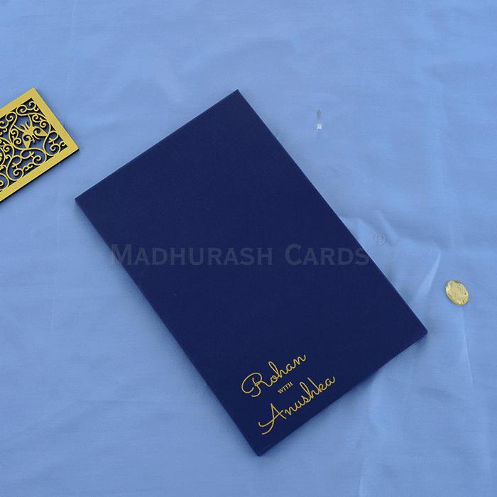 Custom Wedding Cards - CZC-8918G - 3