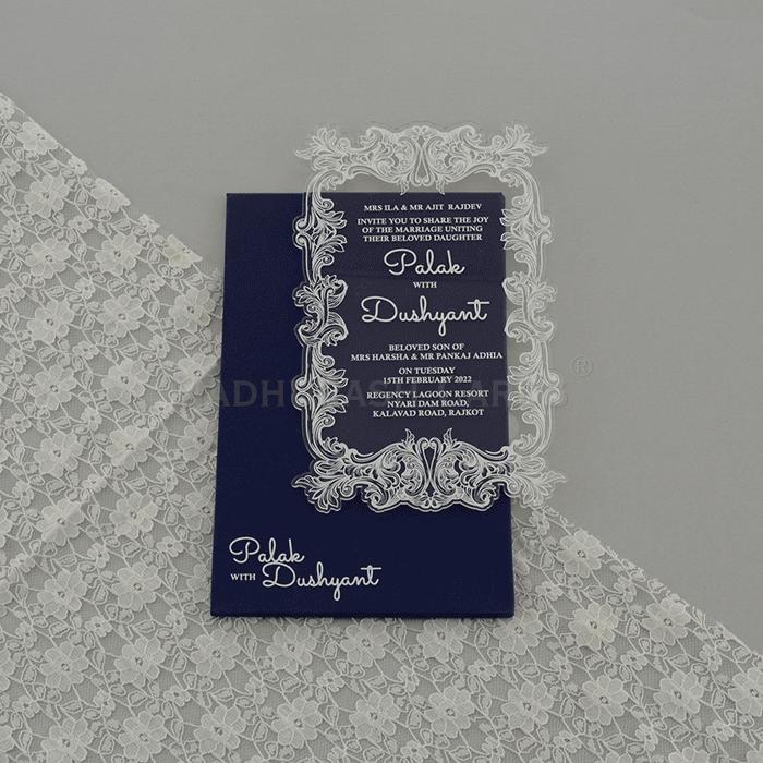 test Custom Wedding Cards - CZC-9172G