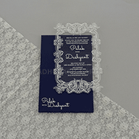 Acrylic Wedding Invites - AWI-9172G
