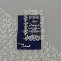 Acrylic Wedding Invites AWI-9172G