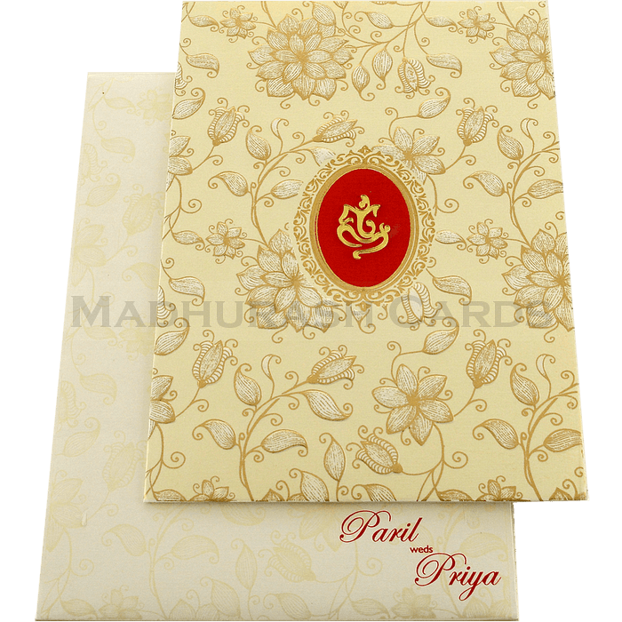 Hindu Wedding Cards - HWC-18226 - 3