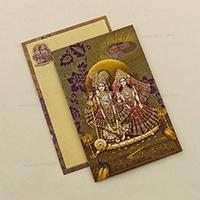 Hindu Wedding Cards - HWC-4695