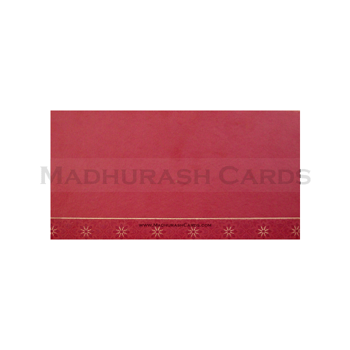 Muslim Wedding Cards - MWC-4021I - 3
