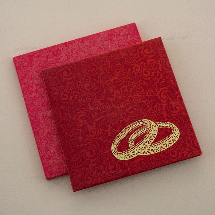 Hindu Wedding Cards - HWC-7003