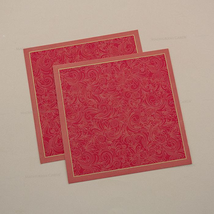 Hindu Wedding Cards - HWC-7003 - 4