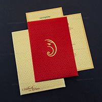 Fabric Wedding Cards - FWI-7009