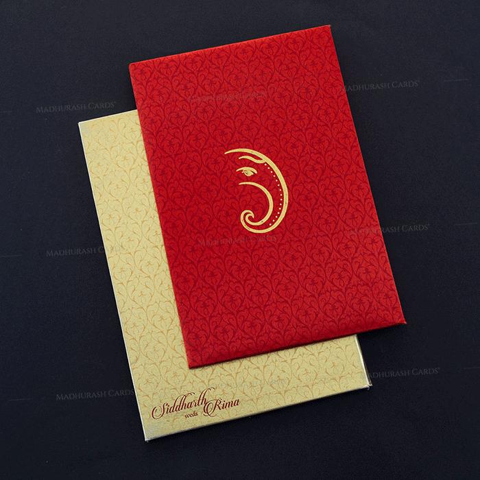 test Fabric Wedding Cards - FWI-7009
