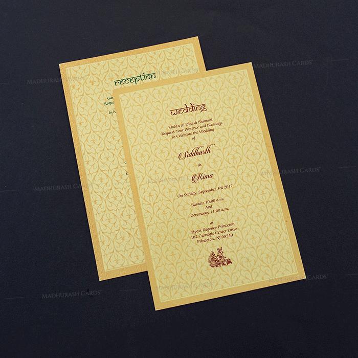 Fabric Wedding Cards - FWI-7009 - 4
