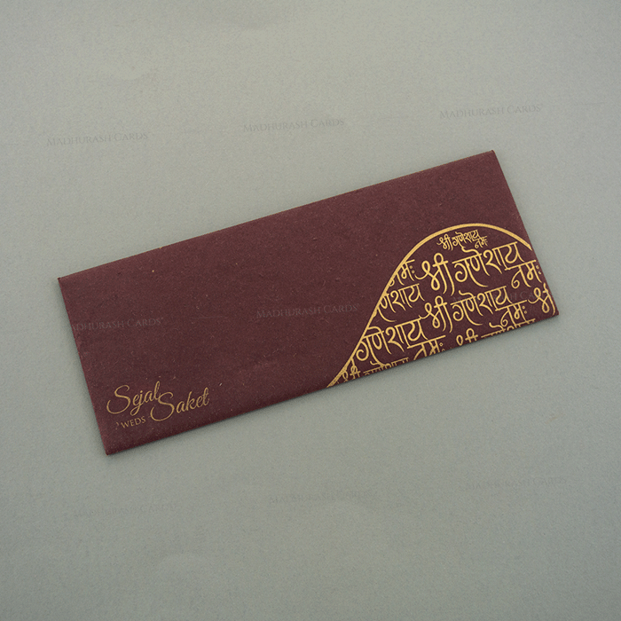 Designer Wedding Cards - DWC-7126 - 3