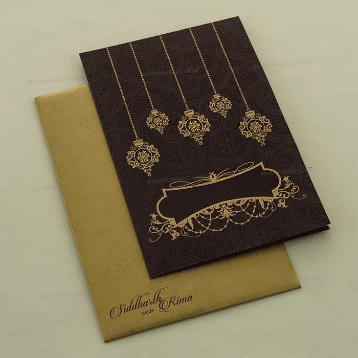 test Fabric Wedding Cards - FWI-14127